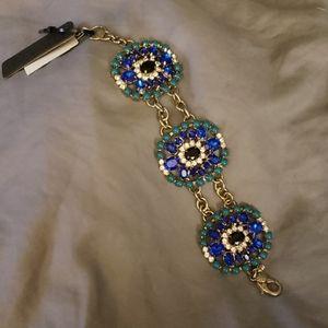 J. Crew Rhinestone Bracelet